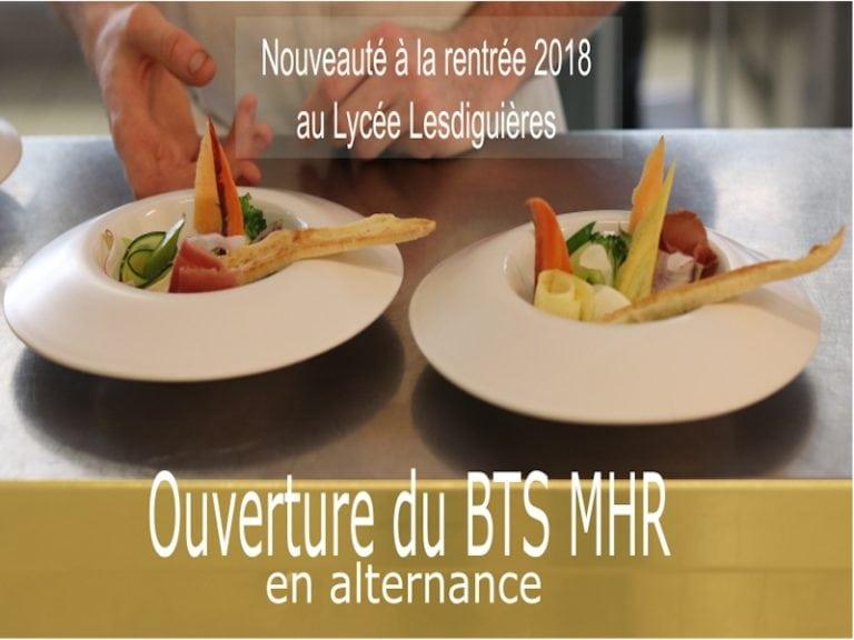 BTS MHR en alternance